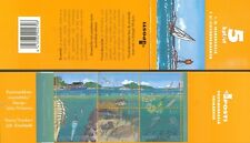 Finland 2002 MNH Booklet - Gulf of Finland - Sea life - Boat - Fish - Flounder