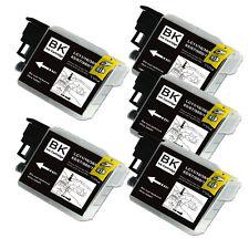 5 BLACK Ink Cartridge for Series LC61 Brother MFC J410w J415w J615W J630W 5890CN