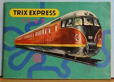 Trix Express Katalog 1963, Spur H0, für Trix-Express-Dreileiter + Schiebetrix
