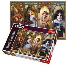 Trefl 1500 Pezzi Per Adulti Grandi Fantasia Collage Foto Floor Puzzle Nuovo