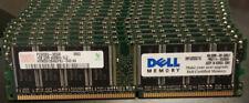2GB (2 x 1GB) PC3200U DDR 400 CL3 Hynix HYMD512646CP8J-D43 Desktop RAM 184 Pin