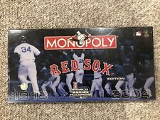 BOSTON RED SOX MONOPOLY! 2004 WORLD SERIES EDITION! BRAND NEW SEALED! LOOK!!!!