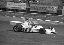 Photo 1974 British F1 GP Grand Prix James Hunt Hesketh Cosworth 208 Brands Hatch