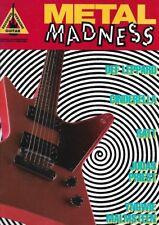 Partition voix guitare - Metal Madness - Divers auteurs