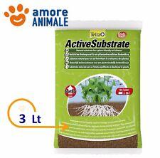Tetra Active Substrate 3 Lt -  Substrato naturale fondo ottimale piante acquari