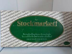 Stockmarket Jordans Games Board Game Vintage Retro Rare 1980's
