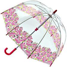 Fulton Funbrella Birdcage - Pretty Petals - Clear Childrens Umbrella