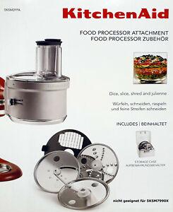 KitchenAid 5KSM2FPA Food-Processor-Aufsatz, -Vorsatz, Küchenmaschinen-Zubehör
