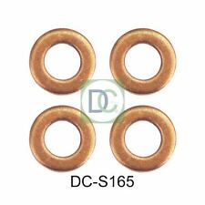 Ford Galaxy 1.8 TDCi 125 HP Diesel Injector Seals / Washers Siemens x 4