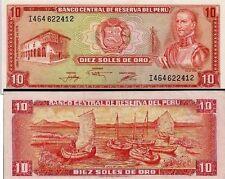 FB176 PERU 10 SOLES 1976 SC