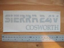 Ford Sierra 24V Cosworth tailgate decal in Silver- New (Granada Scorpio)