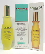 DECLEOR RELAX OIL - CIRCULAROME  - 100ml - BOXED - 30,000+ F/B - CLEARANCE PRICE