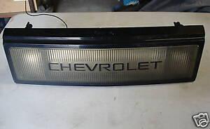 1990 Chevrolet Lumina Light Up Rear trim 4 dr