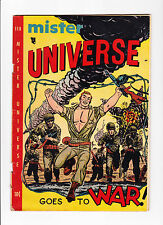 Mister Universe  No.4   :: Goes To WAR ! ::    :: Barbed Wire Cover ::