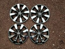 "1 Set of 4 2014 2015 2016 Corolla 16"" Hubcaps Wheel Covers Charcoal Chrome 61172"