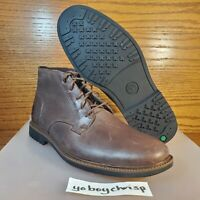 🔥 Timberland Lafayette Park Size 7 Brown Leather Boots Timbs A1QDX New! 🔥