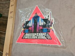 Driving Force (1989) UK Video Hanger/Standee - never opened - TRUCKING/TRUCKERS