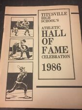 Titusville High School's Athletic Hall Of Fame Celebration 1986
