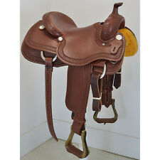 "New! 15.5"" Cactus Saddlery Ranch Cutting Saddle Code: CACTUS155RC3BSO"