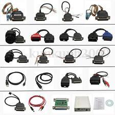 Carprog Full V7.28 Avec 21 Adaptateurs Adapters Support Airbag Reset Diagnostic