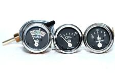 IH Farmall Gauge Set Temp,Oil Pr,Ampere H, M, W,S, SH, M, SM, SMD, SMTA, W, SW