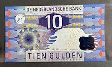 More details for 10 tien gulden nederland netherlands banknote note 1997 uncirculated - ijsvogel