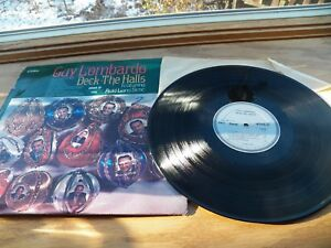 "Guy Lombardo Vinyl Records Christmas Music LP Deck The Halls Record Album 12"""