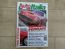 Auto Italia Magazine - May / Jun 1996 - Maserati Ghibli, Alfa 146 ti, Fiat Coupe