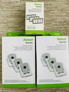 iRobot Roomba S9+ 6 Disposal Bags + 3 Filters - OEM