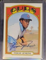 2021 Topps Heritage Fergie Jenkins Real One Auto - Chicago Cubs