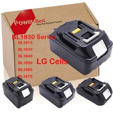 18V Batterie ou Chargeur Makita BL1830 BL1840 LXT Li-ion 1.5A 3A 4A 5A 6A 7.5A