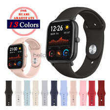 20mm Soft Silicon Sport Wrist Watch Band Strap For Huami Amazfit GTS Wristband