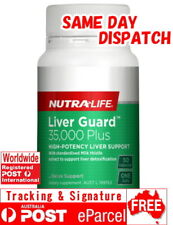 NUTRA LIFE LIVER GUARD 50 CAPSULES 35,000MG MILK THISTLE SILYMARIN
