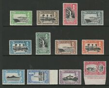St Lucia 1936 Complete set SG 113-124 Mnh.