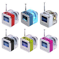Mini Portable Speaker USB HiFi Music MP3/4 Player Micro SD TF USB Disk FM Radio