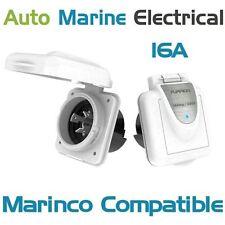 Marinco Compatible International Marine Shore Power 16A Plastic Socket