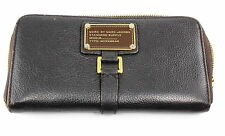 Marc by Marc Jacobs Brown Standard Supply Workwear Leather Zip Wallet Clutch