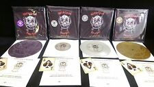 MOTORHEAD - OVERKILL Limited Edition White Etched 7 inch Vinyl Record Lemmy