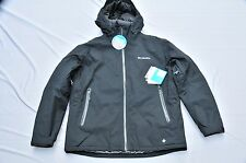 Columbia IN THE LIGHT  JACKET Size XL / TG $300 NWT Men Black Omni Heat  and Dry