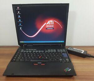"15"" Kult IBM A30 P3 1,13GHz 512MB 30GB ATi Mobility Radeon 7000 Floppy DVD uvm."