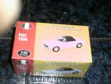 ATLAS EDITION DIE-CAST 1/43 SCALE CLASSIC SPORTS CAR FIAT 1500 (sealed box new)