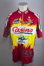 Casino ag2r Nalini Radtrikot cycling jersey Rad Trikot Gr 7 ca XL 57cm MA2