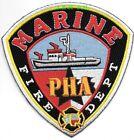 "Port of Houston Authority - Marine, Texas (4.5"" x 4.5"" size)  fire patch"