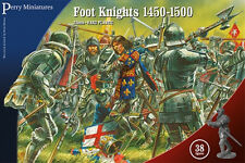 ** Entièrement neuf dans sa boîte ** Perry Miniatures Foot Knights 1450 - 1500