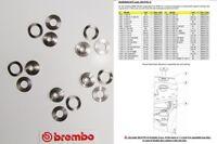 105577612 Set Brújulas Para Discos Freno 68B407D7 BREMBO Moto BMW F 800 St 2008