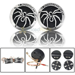 "Soundstream 1"" PEI Dome Super Tweeters with Crossover 110 Watts RMS 4 Ohm TWT.5"