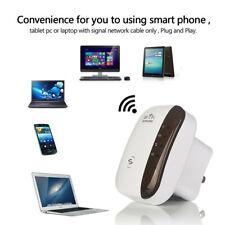 WiFi Blast Wireless Repeater Wi-Fi Range Extender 300Mbps Amplifier UK Plug