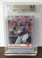 2019 PETE ALONSO NY METS TOPPS SERIES 2 RC RAINBOW FOIL #475 ROOKIE BGS 9.5
