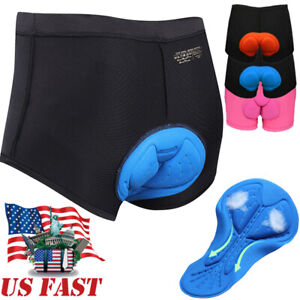 Cycling Underwear 3D Gel Padded Breathable Bicycle Shorts For Men Womens Pants