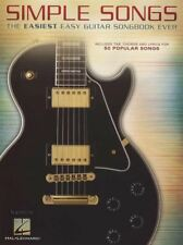 Simple Songs Easiest Easy Guitar Songbook TAB Book AC/DC ZZ Top Jason Mraz Adele